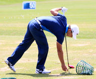 Thorbjorn Olesen at The French golf Open 2013 Stock Photos