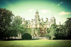 Thoresby Salão Imagens de Stock Royalty Free