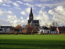 Thorn. The Netherlands - picture perfect village Royalty Free Stock Images