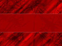 Thorn background. Abstract red background, computer generated Stock Photography