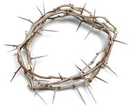 Thorn. Crown Of s Grief Easter Jesus Christ Circle God Royalty Free Stock Photo