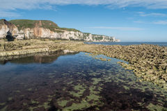 Thorn wick Bay, North Yorkshire Coast Stock Photo