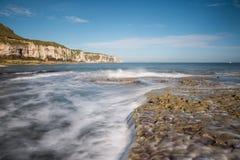 Thorn wick Bay, North Yorkshire coast Stock Image