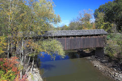 Thornapple Covered Bridge Royalty Free Stock Photos