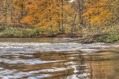 Thornapple River in Alaska, Michigan Stock Photo