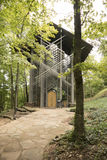 Thorncrown glass chapel Stock Photography