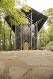 Thorncrown glass chapel Stock Photo