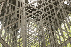 Thorncrown glass chapel Royalty Free Stock Image