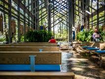 Thorncrown-Kapelle lizenzfreie stockfotografie