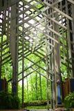 Thorncrownkapel - binnenlandse voorzijde royalty-vrije stock afbeelding