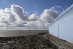 Thorney-Bucht, Canvey Island, Essex, England stockfoto