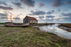 Thornham in Norfolk fotografia stock