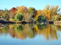 Thornhill autumn pond 2016 Royalty Free Stock Photo