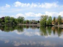 Thornhill der Teich 2016 Lizenzfreie Stockfotos
