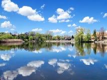Thornhill pond 2016 Stock Photos