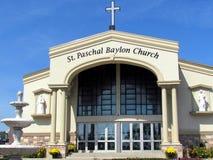 Thornhill St Baylon Paschalny kościół 2015 Zdjęcie Royalty Free