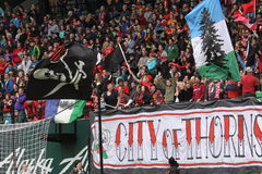 Thorns army Stock Images