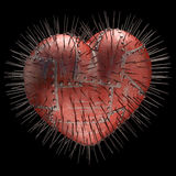 Thorns Heart Stock Photo
