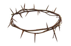 Thorns wreath Christ Stock Photo