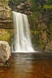 Thornton强制瀑布,英国 免版税库存图片