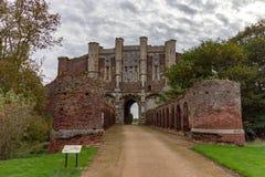 Thornton Abbey Gatehouse lizenzfreies stockfoto