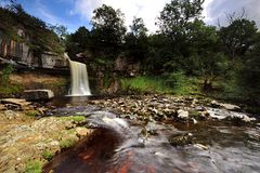 Thornton Force. And the River Twiss, Ingleton Stock Photo