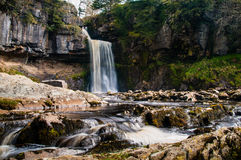 Thornton Force Waterfall Stock Photo