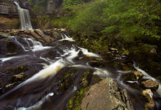 Thornton Force waterfall. In the Yorkshire Dales, UK Stock Photo