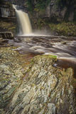 Thornton Force waterfall, Yorkshire. Thornton Force waterfall in the Yorkshire Dales, UK Royalty Free Stock Photo