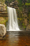 Thornton Kraftwasserfall, Großbritannien Lizenzfreie Stockbilder