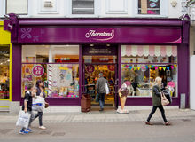 Thorntons Chocolate Shop Royalty Free Stock Image