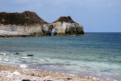 Thornwick Bay Royalty Free Stock Images