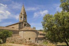 Thoronet abbey. Thoronet cistercian abbey in Provence Stock Image