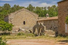 Thoronet abbey. Thoronet cistercian abbey in Provence Royalty Free Stock Photos