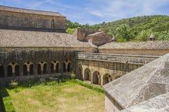 Thoronet abbey. Thoronet cistercian abbey in Provence Stock Photography