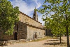 Thoronet abbey. Thoronet cistercian abbey in Provence Stock Photos