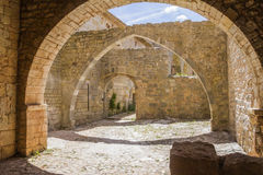 Thoronet abbey. Thoronet cistercian abbey in Provence Stock Images