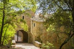 Thoronet abbey. Thoronet cistercian abbey in Provence Royalty Free Stock Photo
