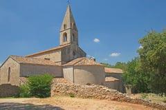Thoronet Abbey i Provence (Frankrike) Royaltyfri Foto