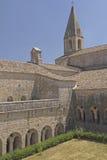 Thoronet Abbey i Provence (Frankrike) Arkivbild
