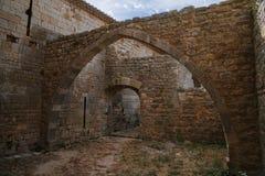 Thoronet Abtei von der Cistercian Ordnung in Frankreich Lizenzfreie Stockfotos