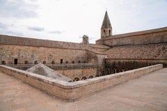Thoronet Abtei von der Cistercian Ordnung in Frankreich Stockbilder
