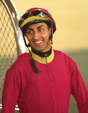Thoroughbred Jockey Edwin Maldonado Stock Photos