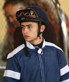 Thoroughbred Jockey Efrain Hernandez Stock Photography