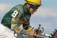 Thoroughbred Jockey Junior Alvarado Stock Photography