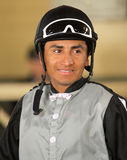 Thoroughbred Jockey Rafael Bejarano Royalty Free Stock Photography