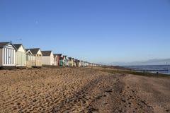 Thorpe Bay Beach Essex, England fotografering för bildbyråer