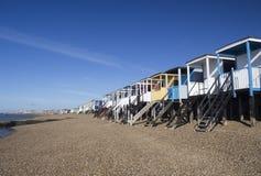 Thorpe Bay Beach, Essex, England Stock Image