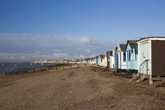Thorpe Bay Beach, Essex, England Royalty Free Stock Images