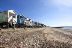 Thorpe Bay Beach Huts Stock Images